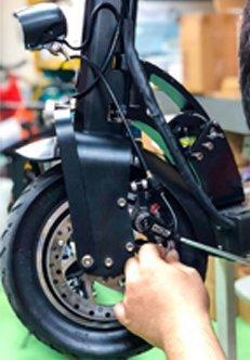 riparazione bicicletta elettrica