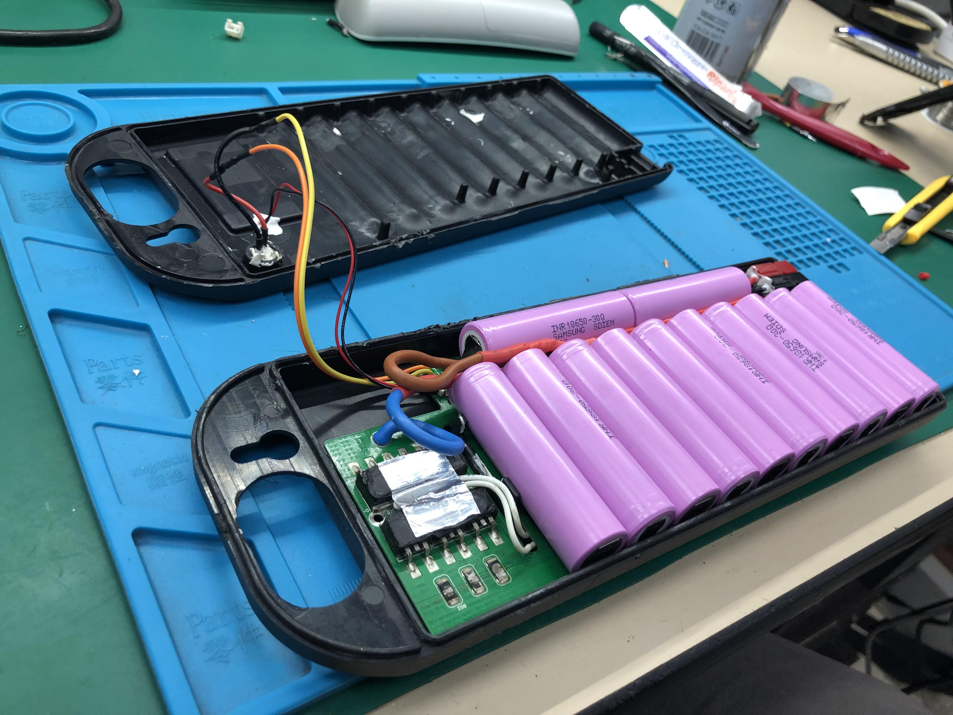 Costruzione pacco batteria