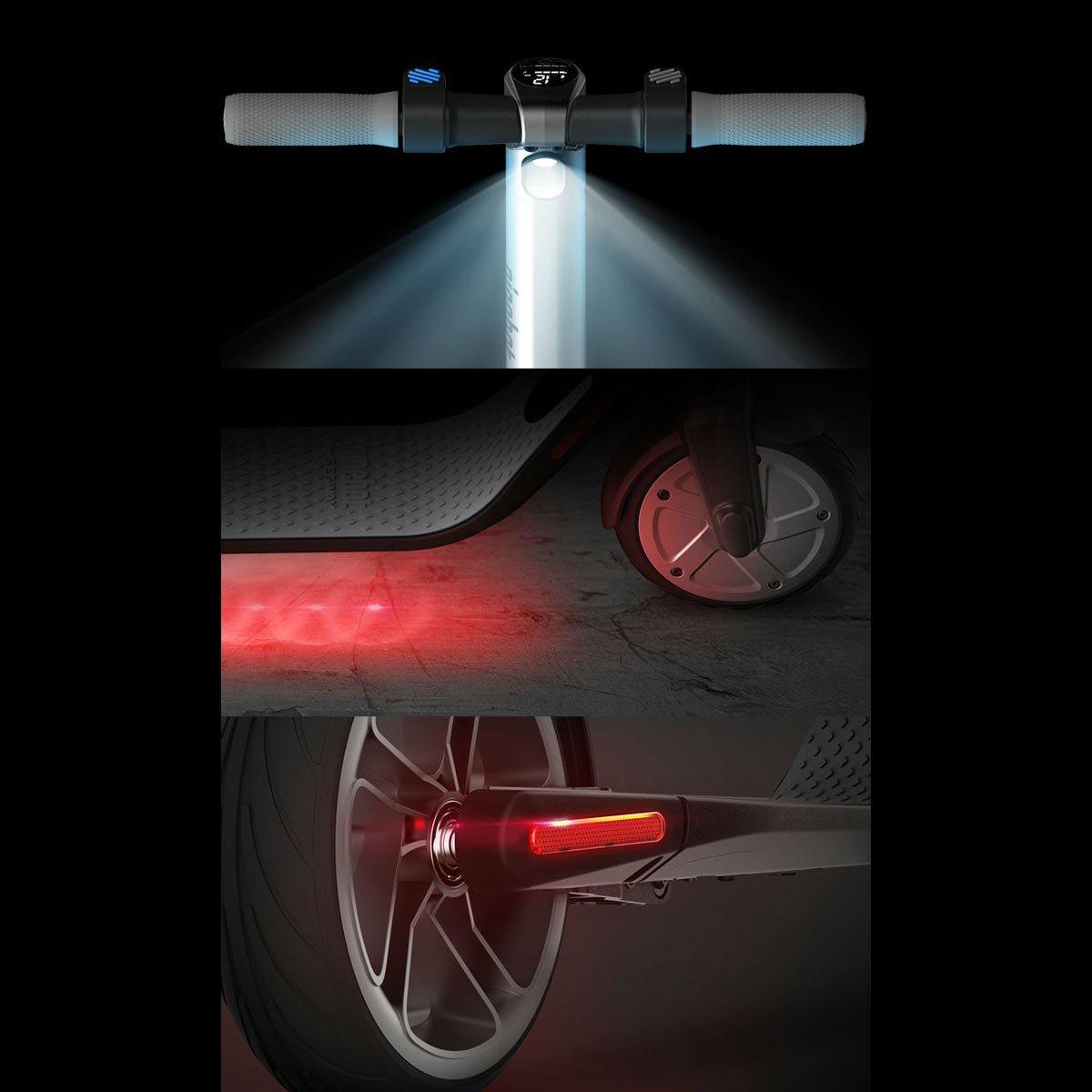 sicurezza monopattini elettrici luce stop visibilità